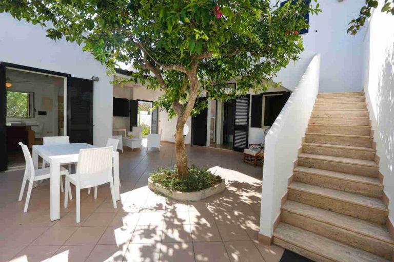 Villa nel Villaggio Conca Specchiulla sul mare vicino Otranto nel Salento